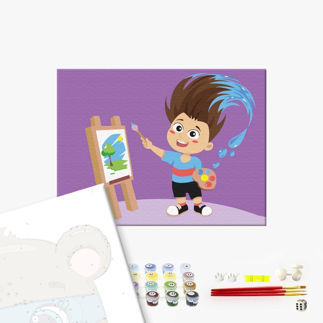 Картина по номерам KIDS - Брашмік
