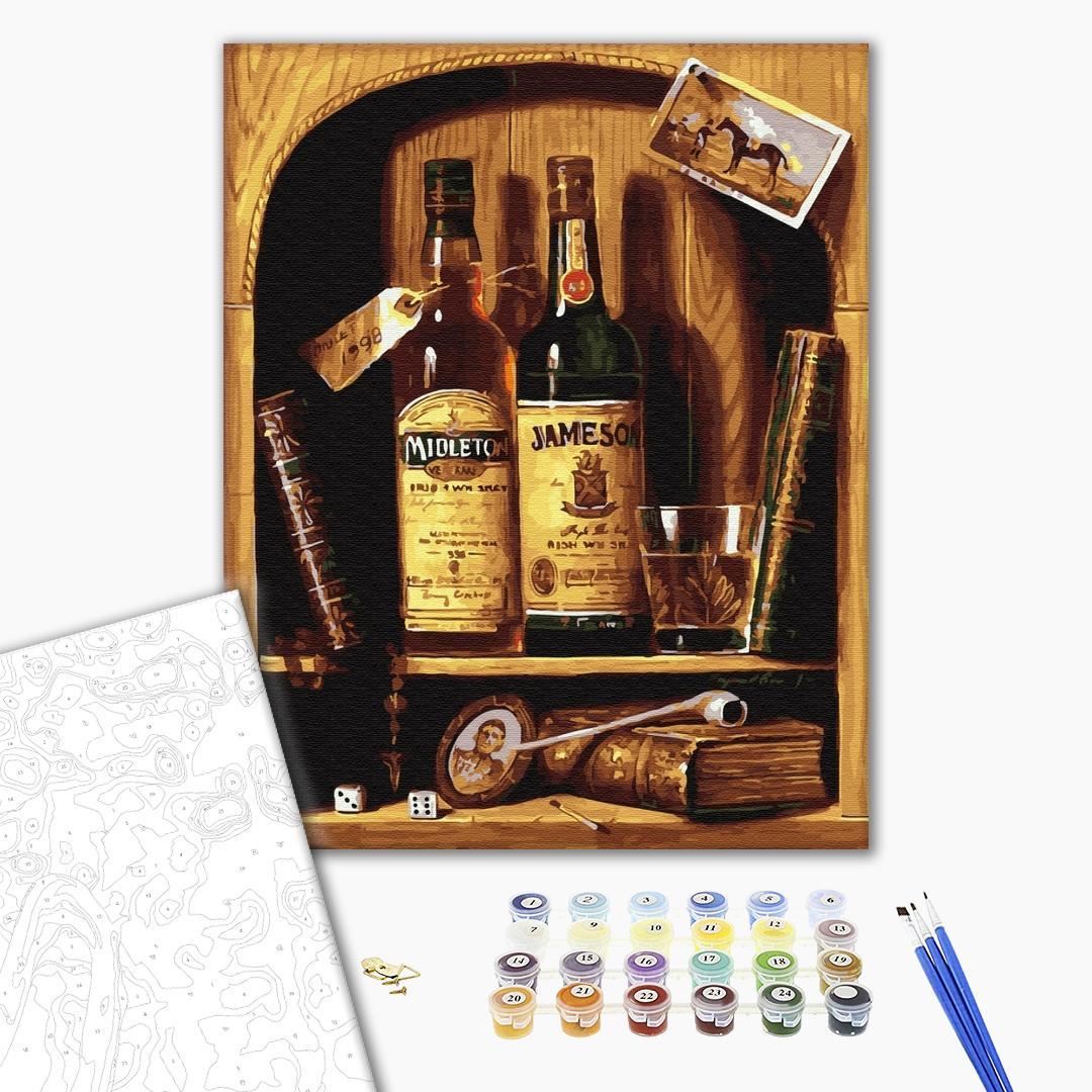 Картина по номерам Мужские - Подарунковий набір
