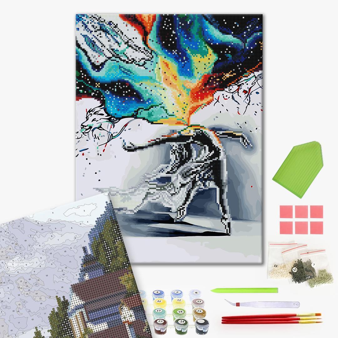 Алмазные картины-раскраски - Танець мистецтва