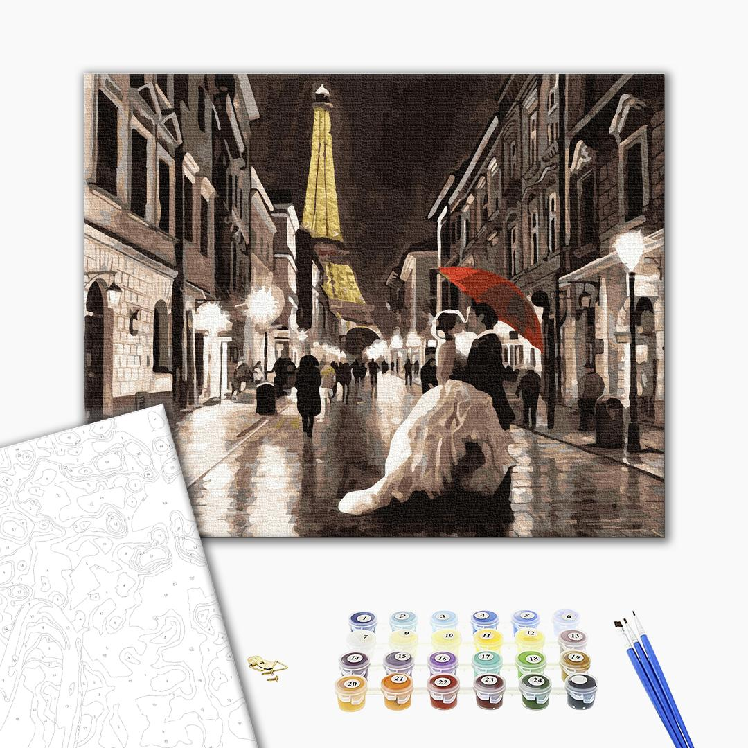 Картина по номерам Люди на картинах - Вишуканий Париж