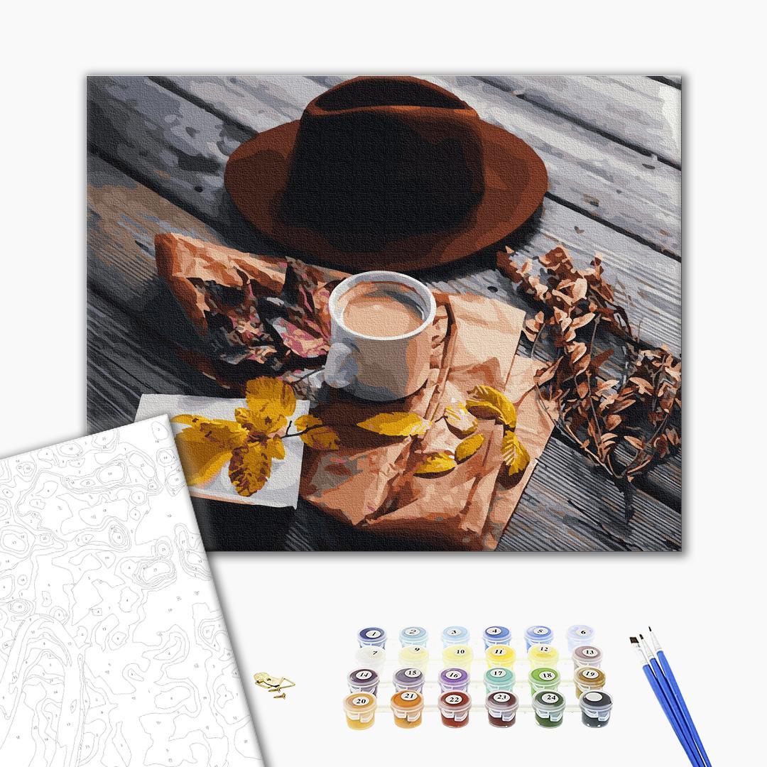 Картина по номерам Натюрморты - Осіння розкладка
