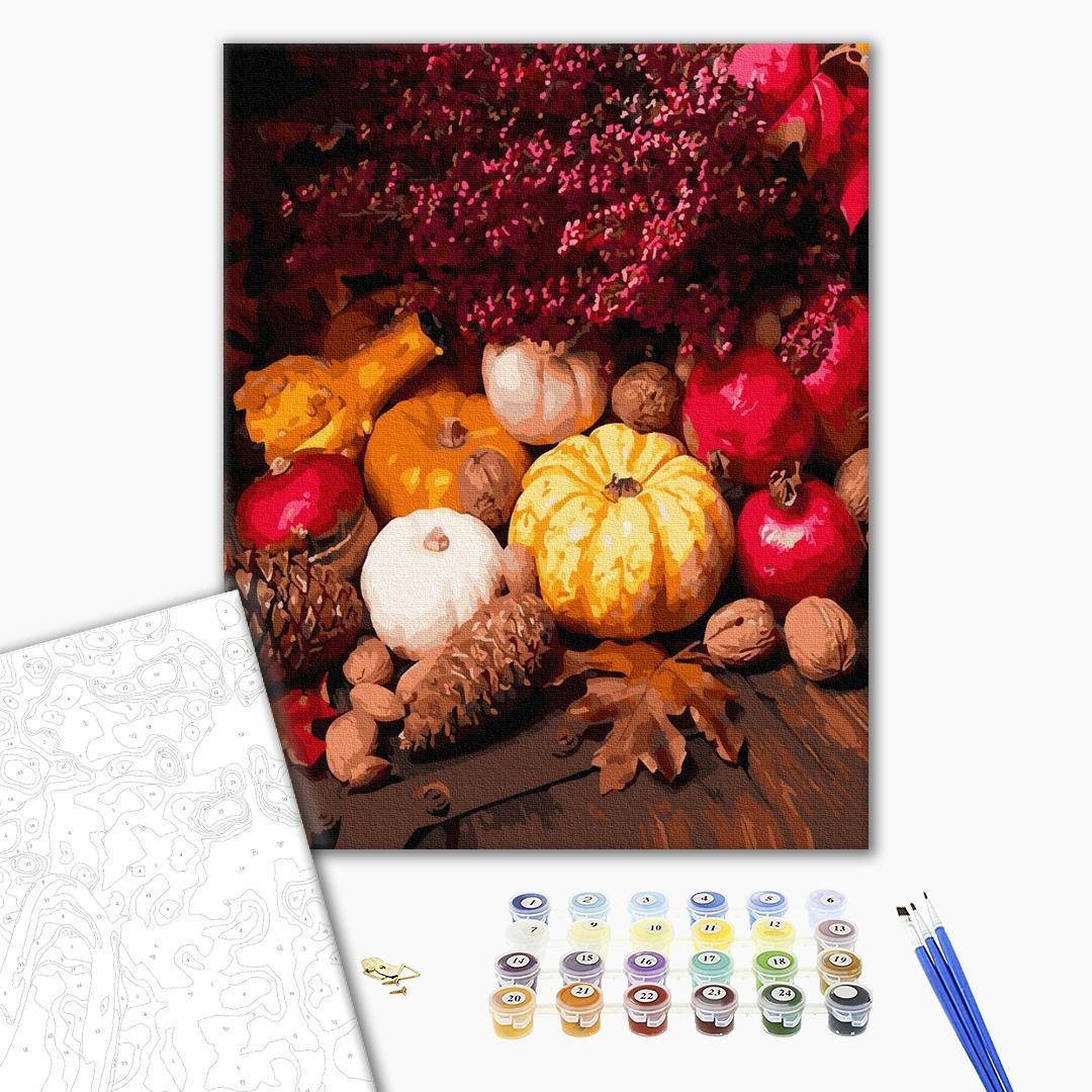 Картина по номерам Натюрморты - Дари осені
