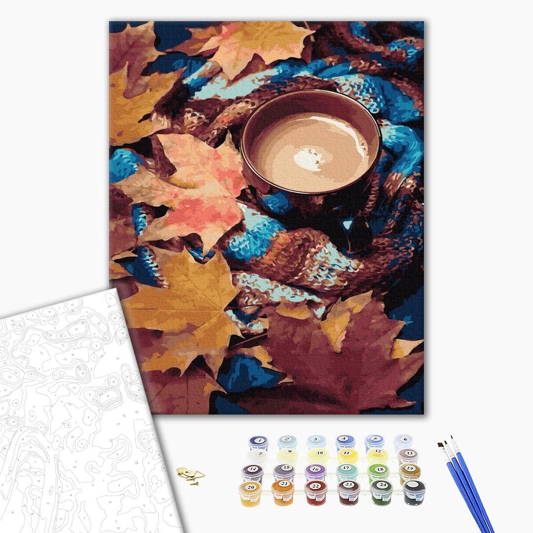 Картина по номерам Натюрморты - Согревающее какао