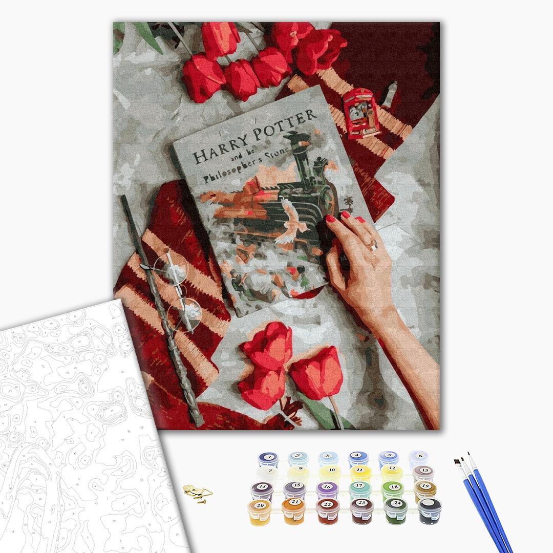 Картина по номерам Уникальные сюжеты - Знакомство с магическим миром Гарри