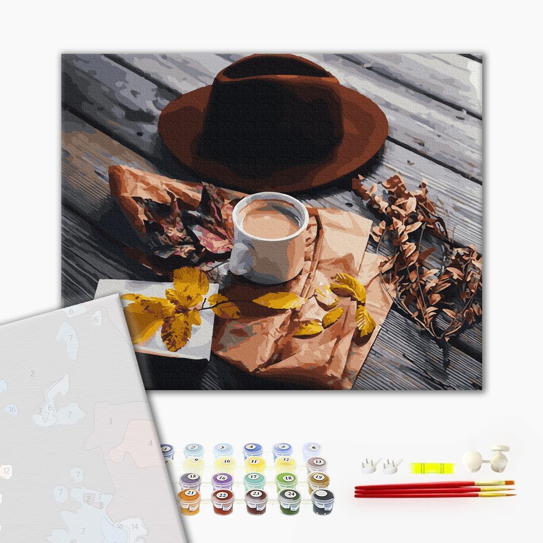 Картина по номерам ПРЕМИУМ картины - Осенняя раскладка