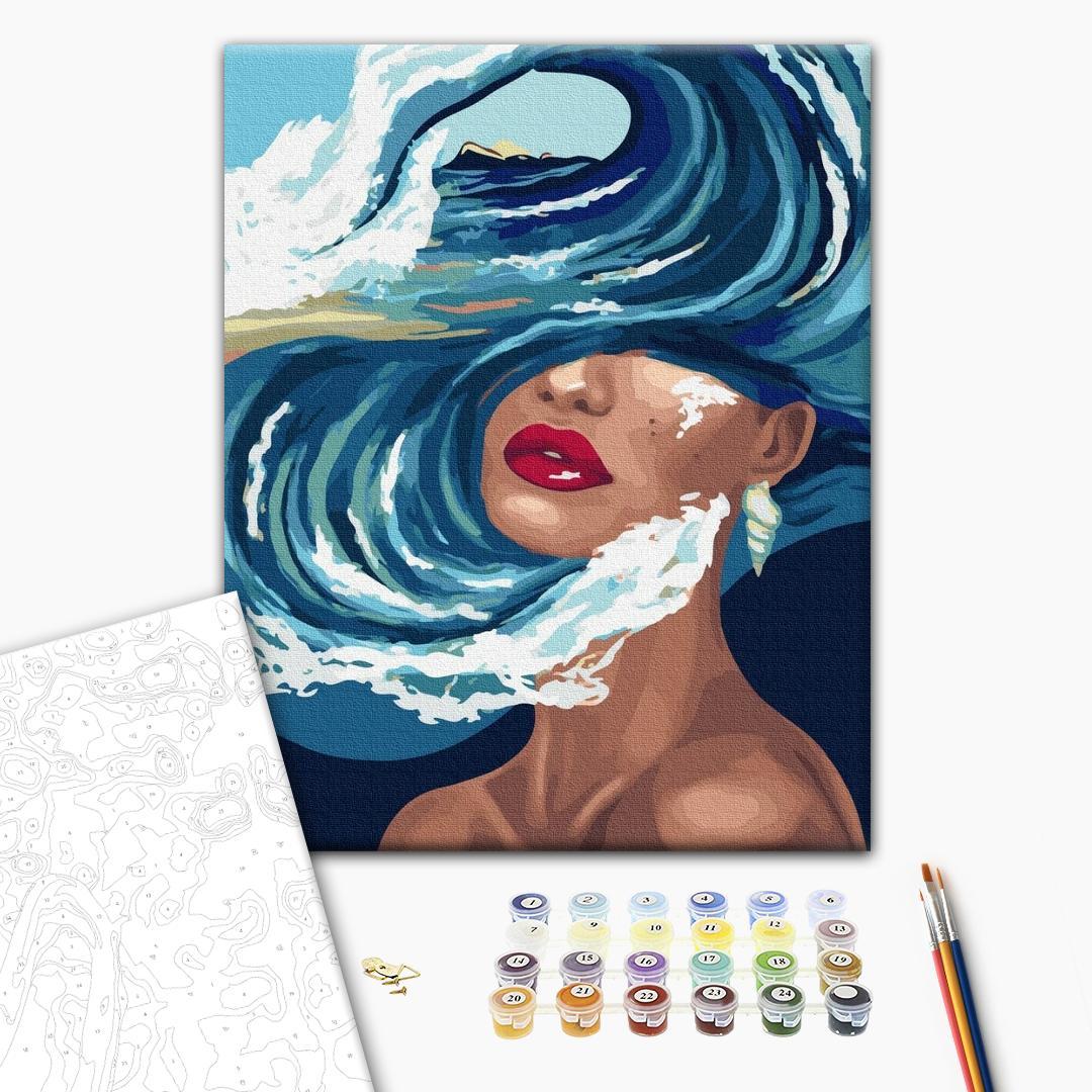 Картина по номерам Абстракции - Океан мыслей