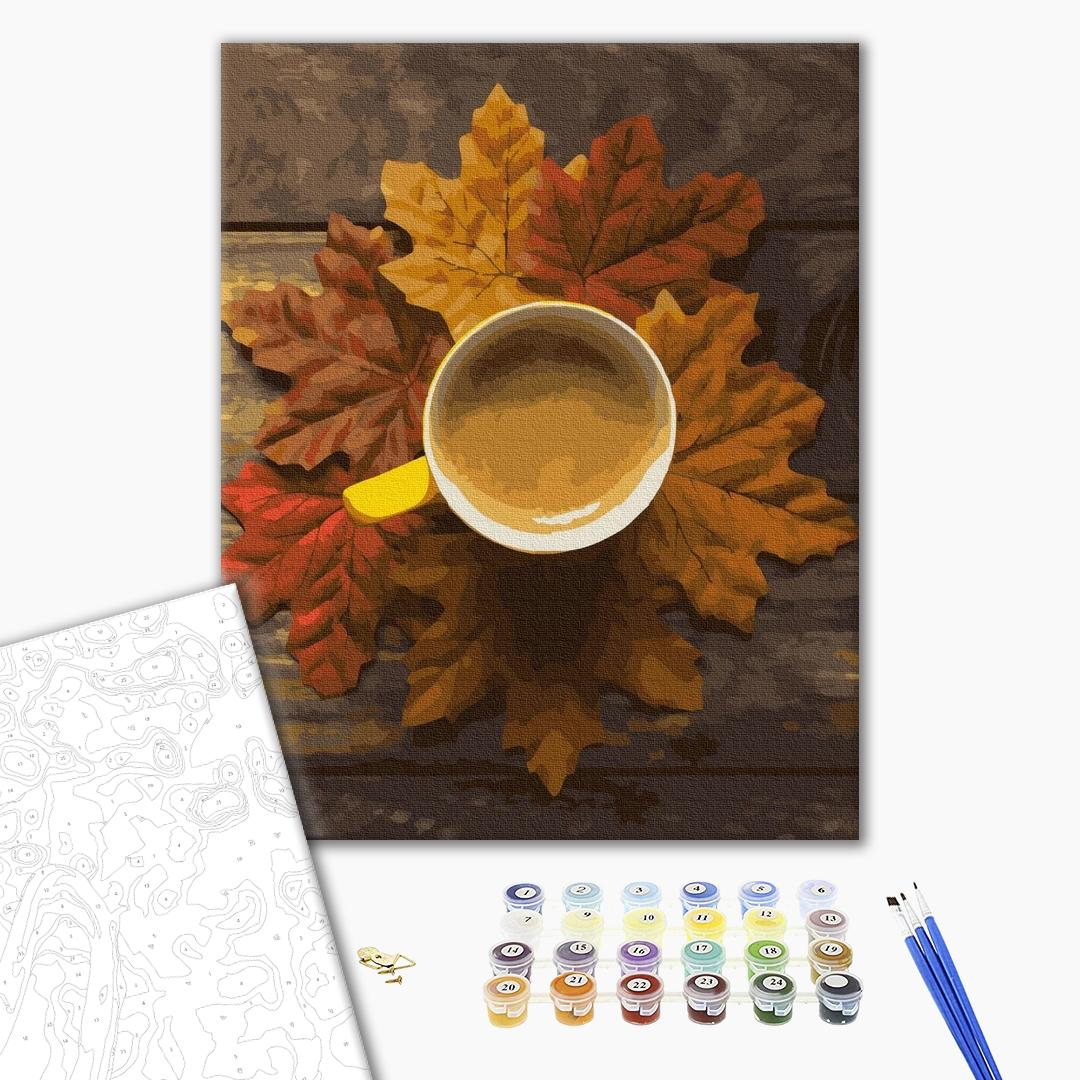 Картина по номерам Натюрморты - Осіннє какао
