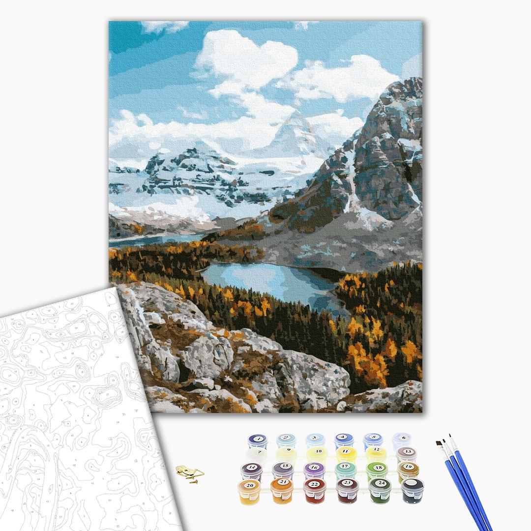Картина по номерам Природа - Гірський ландшафт