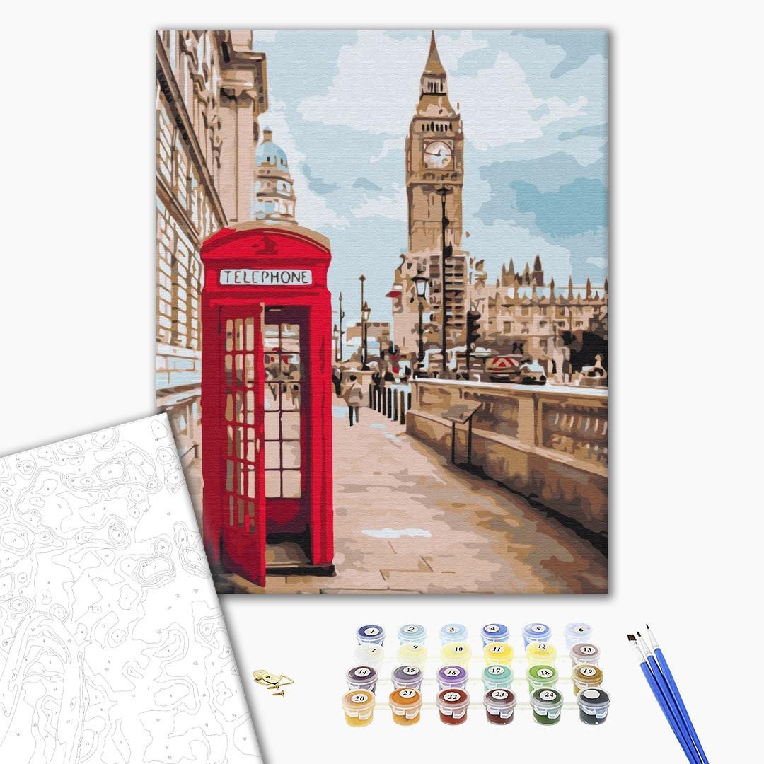 Картина по номерам Города - Символы Лондона