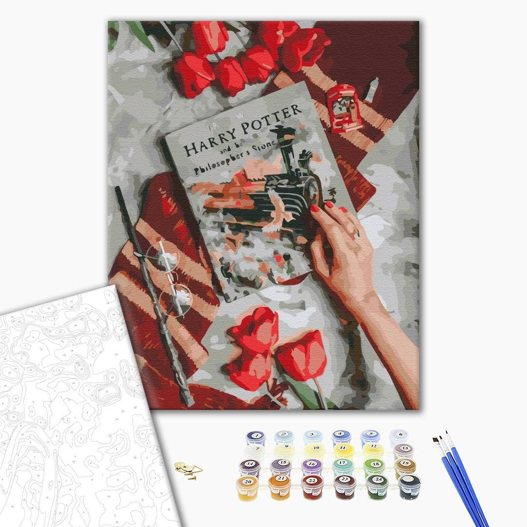 Картина по номерам Уникальные сюжеты - Знайомство з магічним світом Гаррі