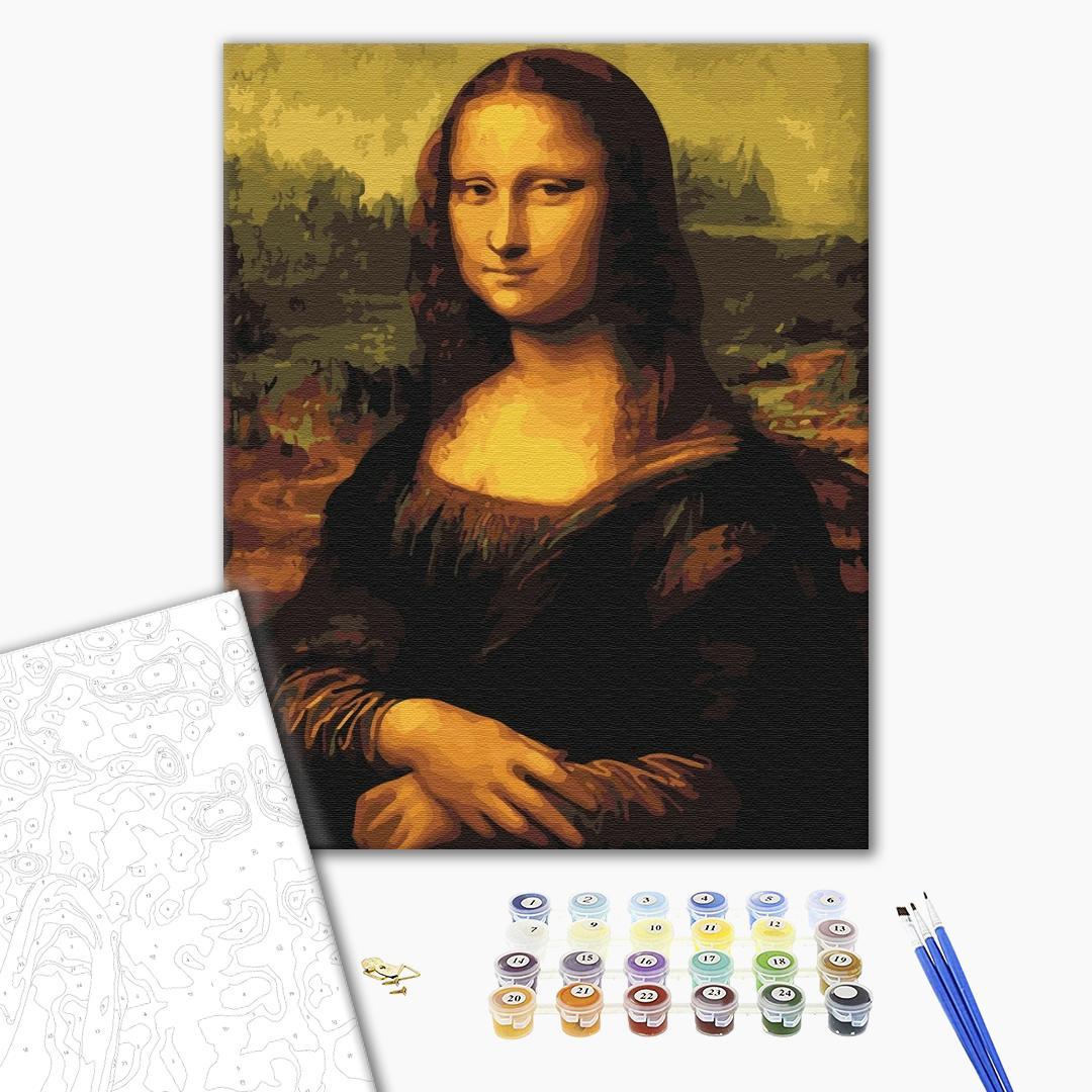 Картина по номерам Репродукции художников - Мона Лиза