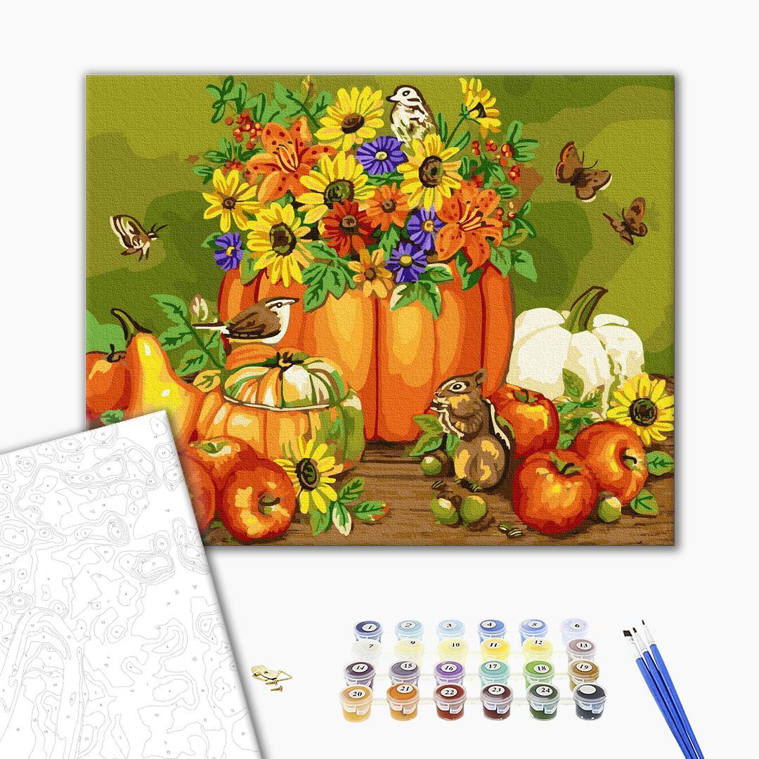 Картина по номерам Натюрморты - Осенний натюрморт