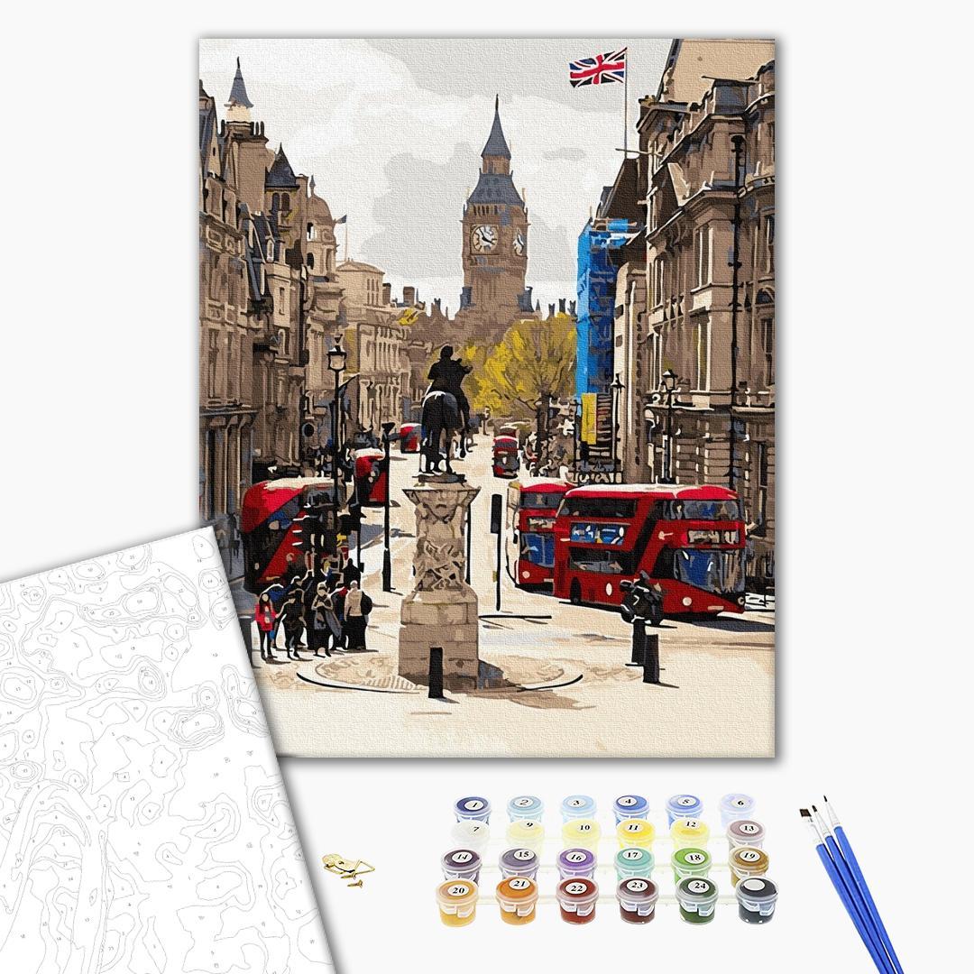 Картина по номерам Города - Бурный Лондон