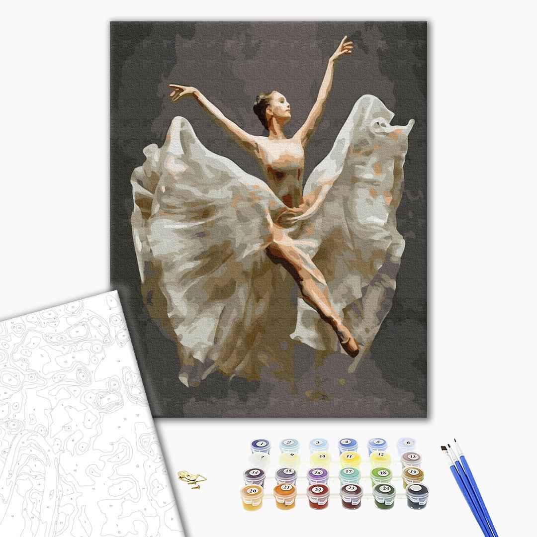 Картина по номерам Люди на картинах - Балерина в польоті