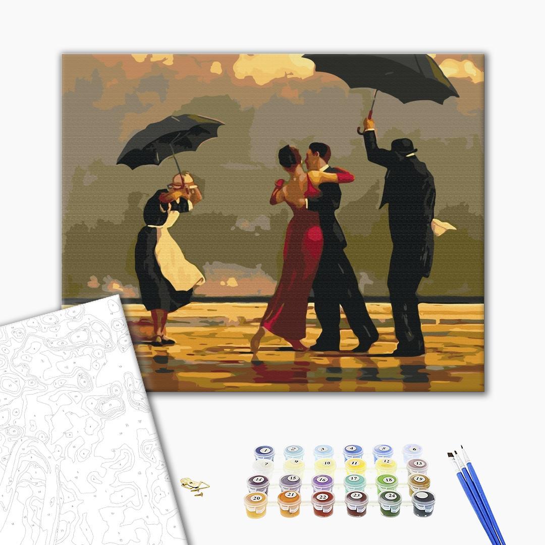 Картина по номерам Репродукции художников - Аристократичне танго