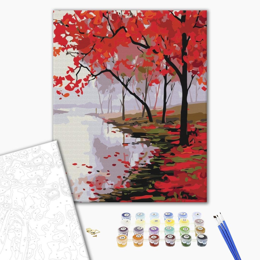 Картина по номерам Природа - Цвета Японии