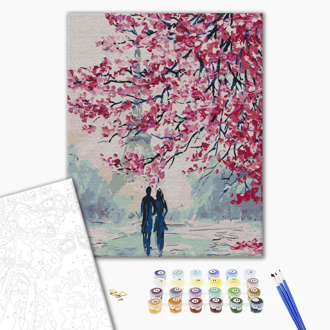 Картина по номерам Романтика - Романтична прогулянка