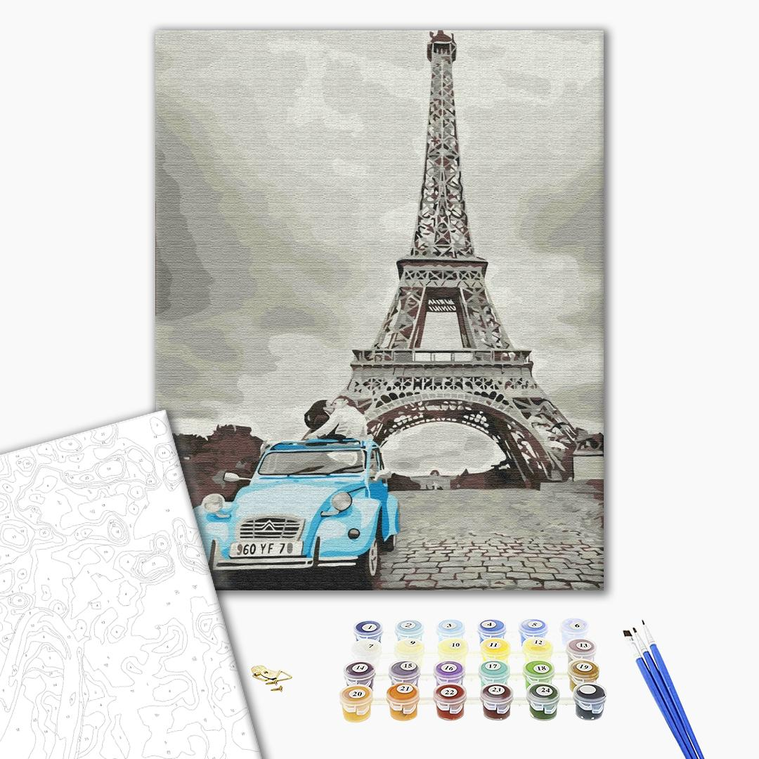 Картина по номерам Города - Ретро Париж