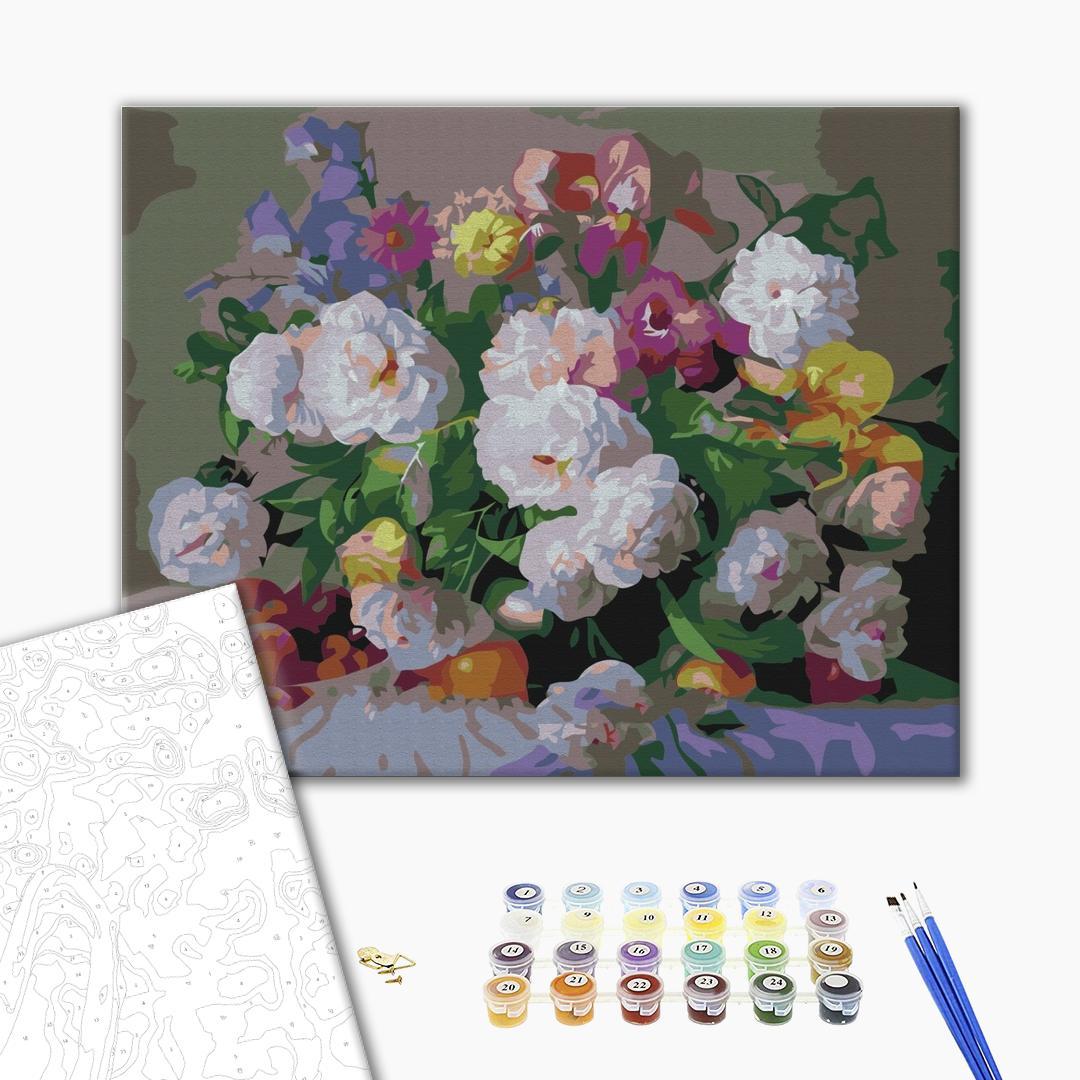 Картина по номерам Цветы - Летние дары