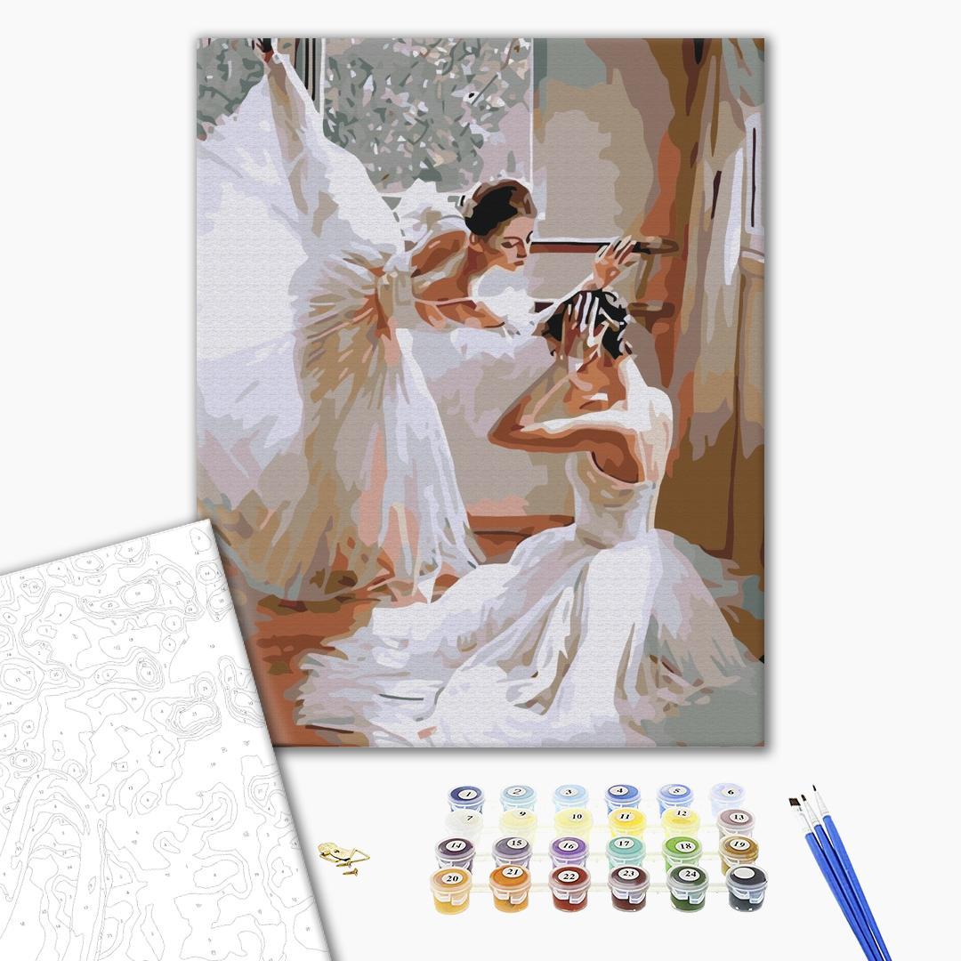 Картина по номерам Люди на картинах - Повітряні балерини