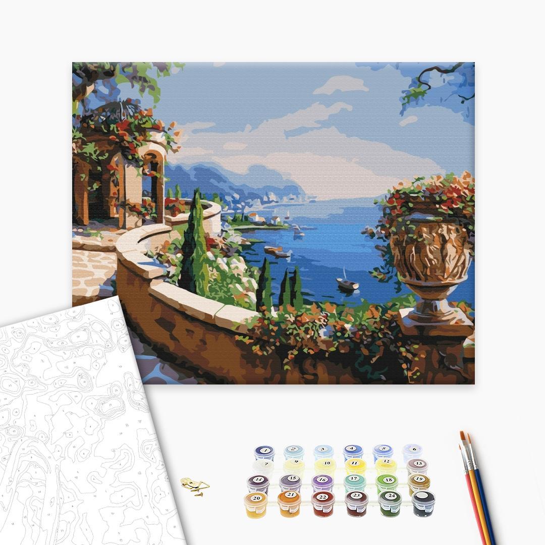 Картина по номерам Пейзажи - Вид на залив