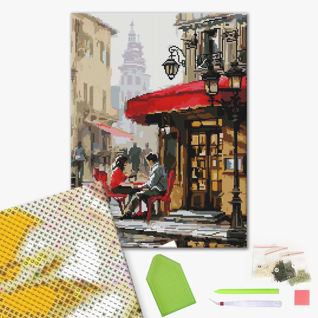Алмазная мозаика 40х50 - Романтичне побачення