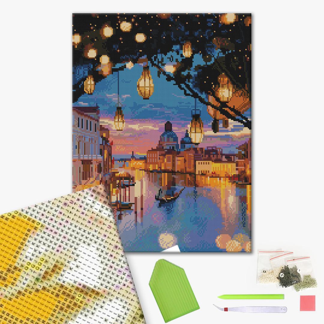 Алмазная мозаика 40х50 - Казкова Венеція