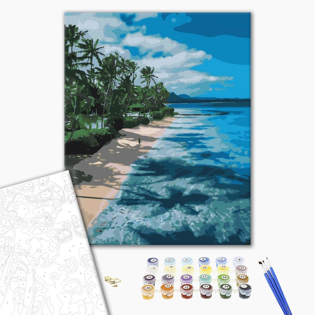 Картина по номерам Пейзажи - Райська набережна