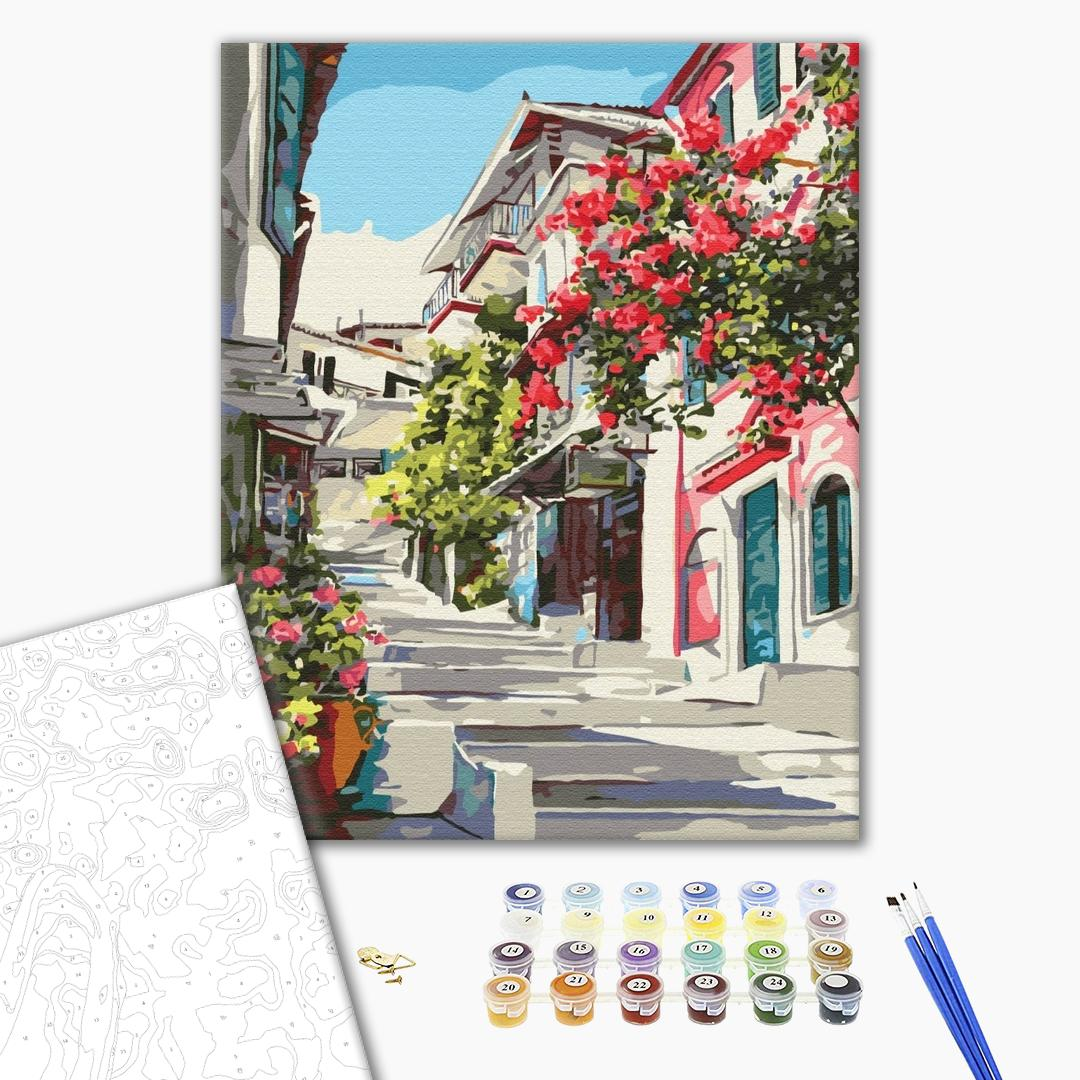 Картина по номерам Пейзажи - Греция