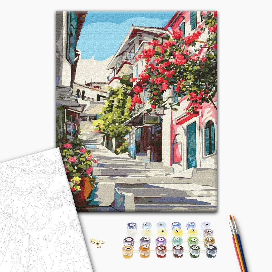 Картина по номерам Пейзажи - Греція