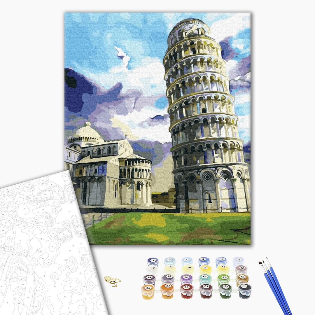 Картина по номерам Города - Пізанська вежа