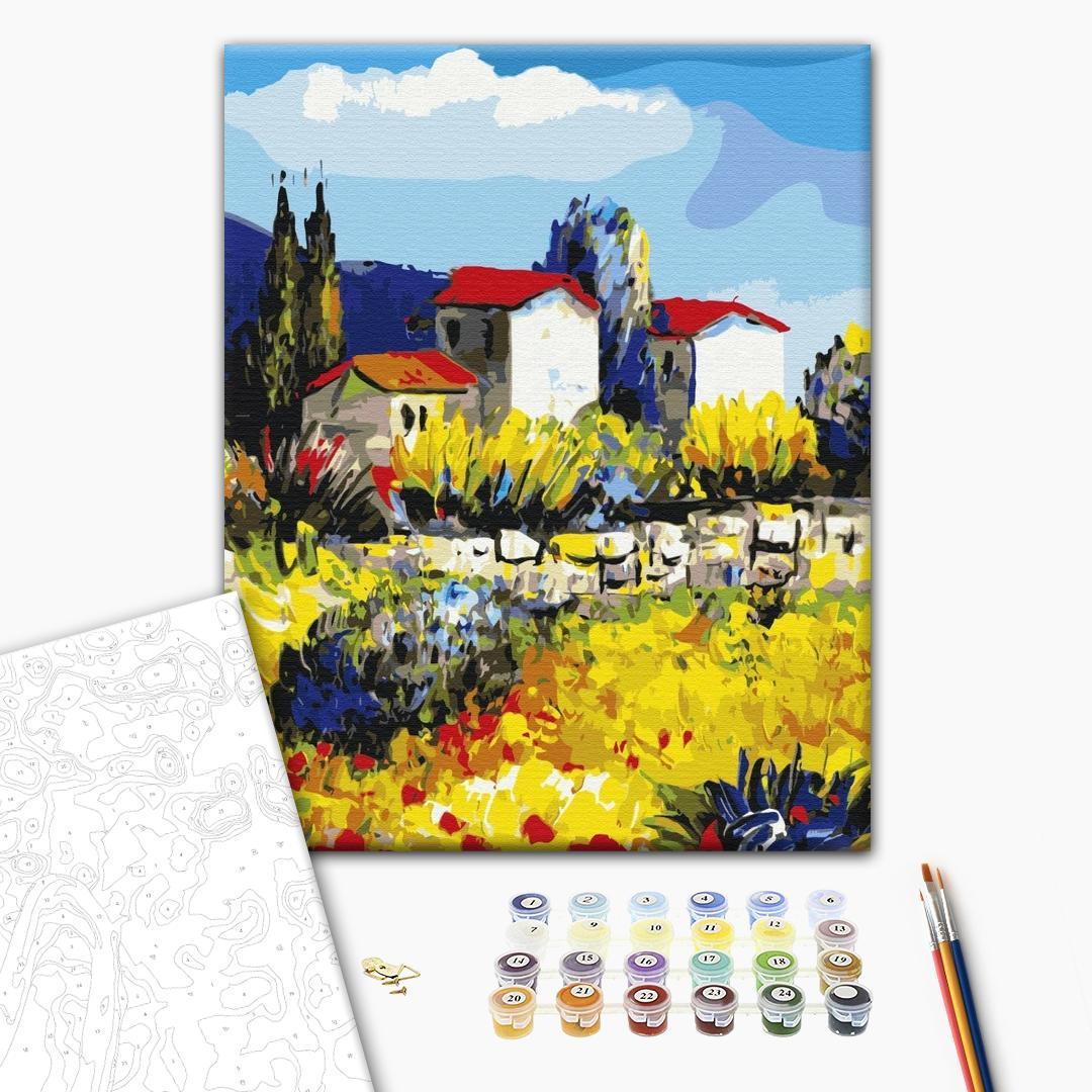 Картина по номерам Репродукции художников - Провінція маслом