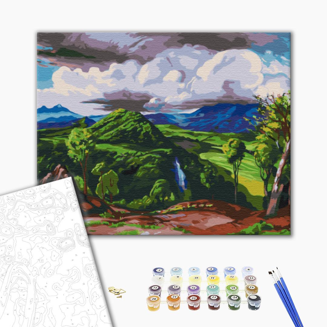 Картина по номерам Репродукции художников - Долина Піуамо. Доктор Атл, Херардо Мурільо