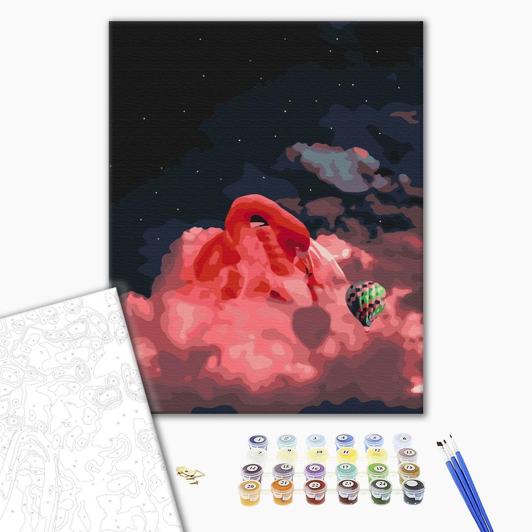 Картина по номерам Абстракции - Выше неба