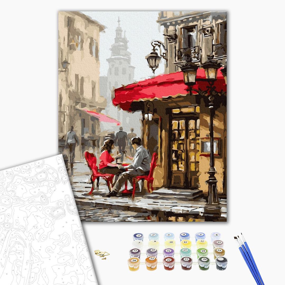 Картина по номерам Города - Романтичне побачення