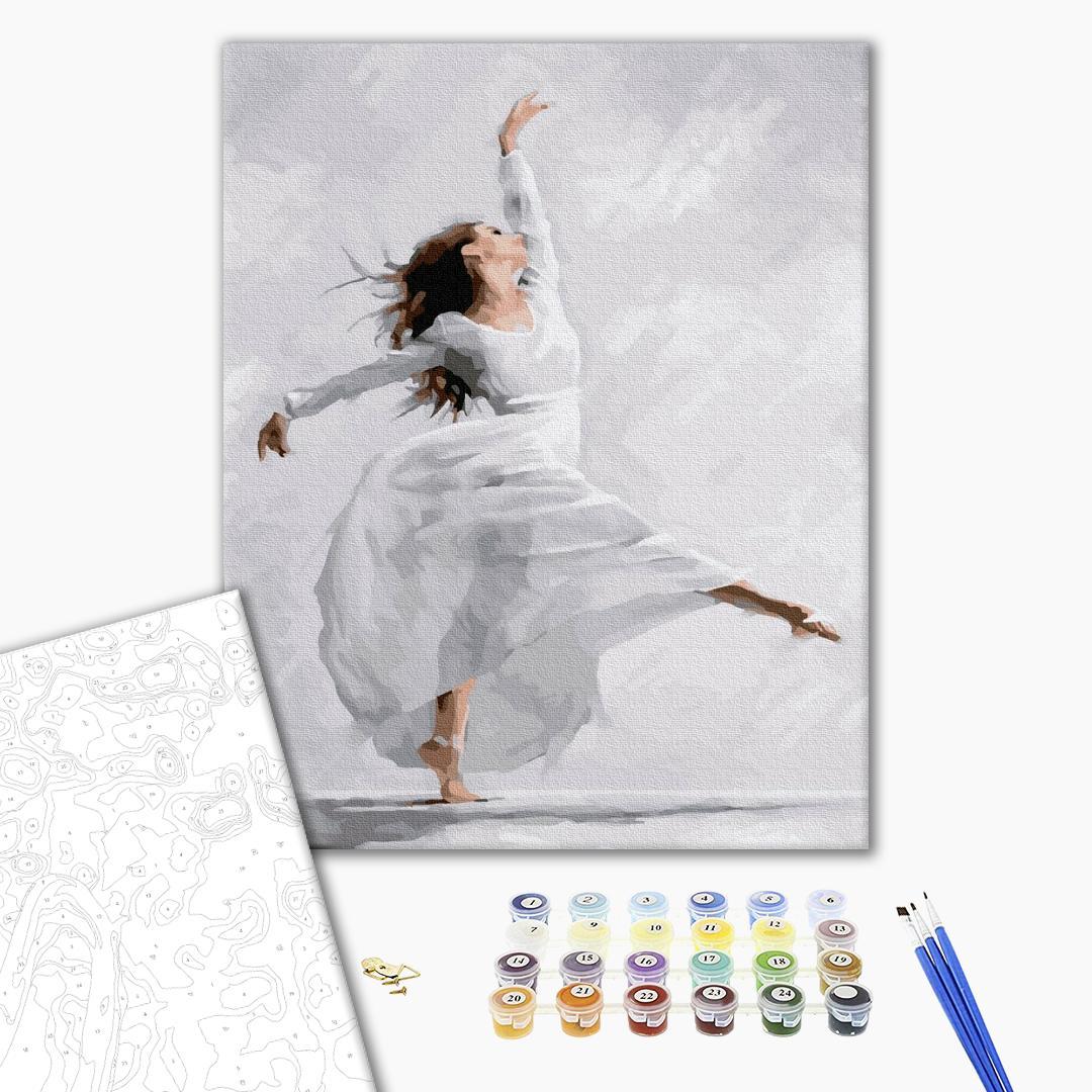 Картина по номерам Люди на картинах - Танец души