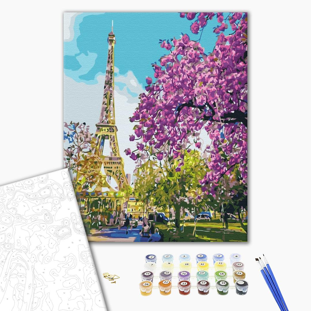 Картина по номерам Города - В центрі Парижу