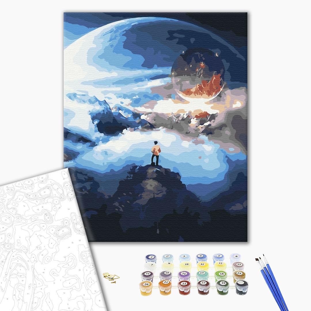 Картина по номерам Космос - Космический путешественник