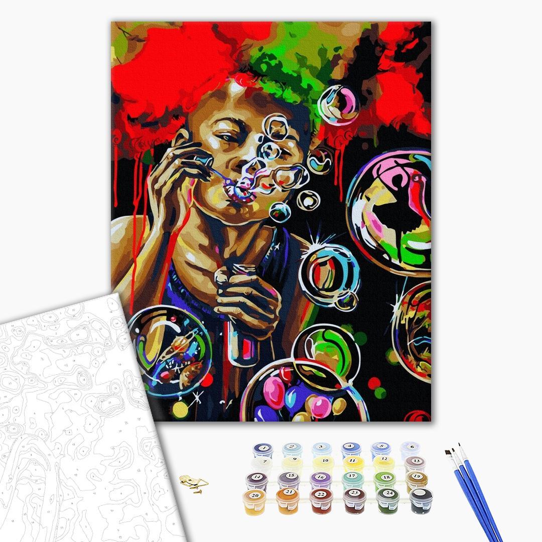 Картина по номерам Поп-арт - Воздушные мечты